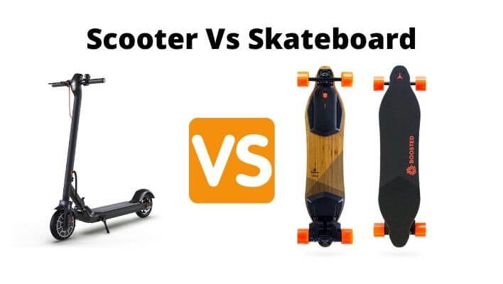 Electric Scooter Vs Electric Skateboard