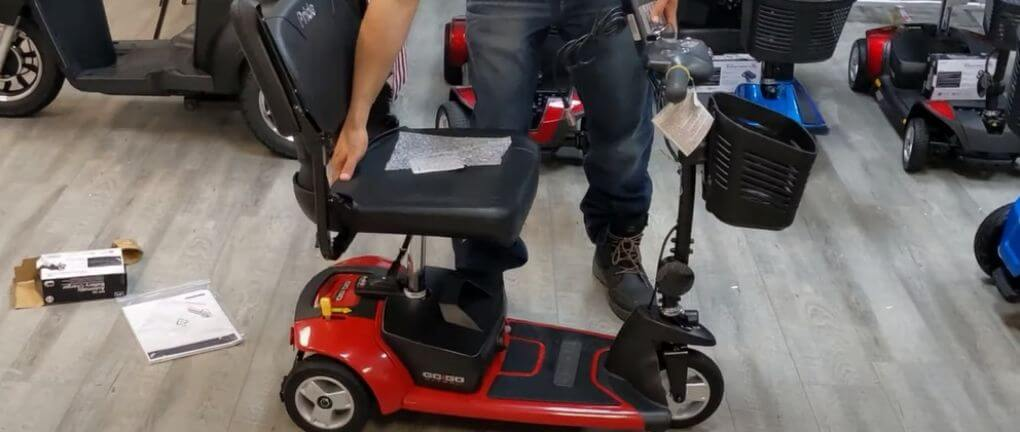 Go-Go Ultra X 3-Wheel Travel Mobility Scooter