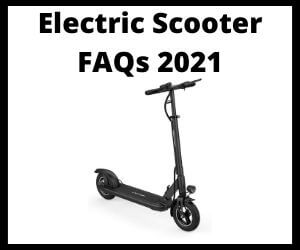 Electric Scooter FAQs
