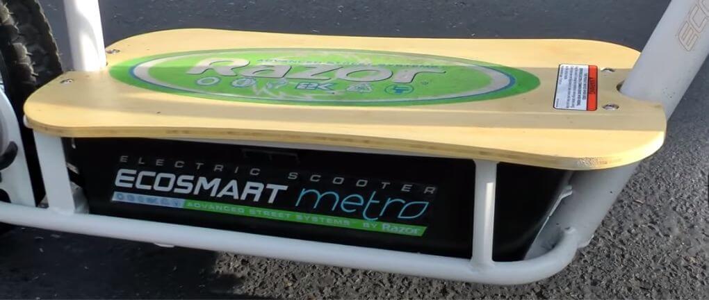 razor ecosmart metro battery