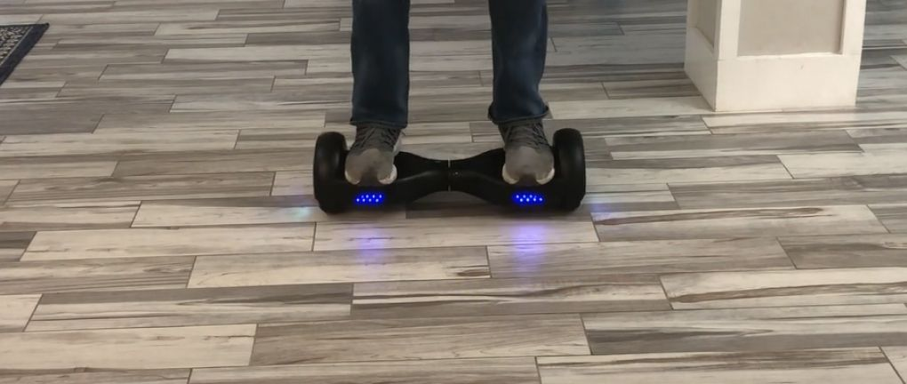 SISIGAD hoverboard testing