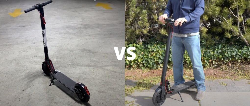 Glion Dolly vs Gotrax GXL Electric Scooter