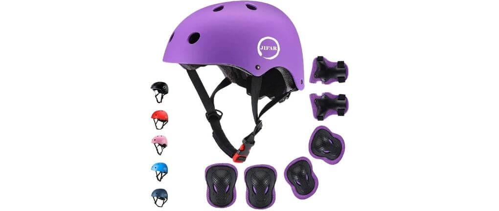 JIFAR – Hoverboard Helmet with Kneed & Elbow Pads