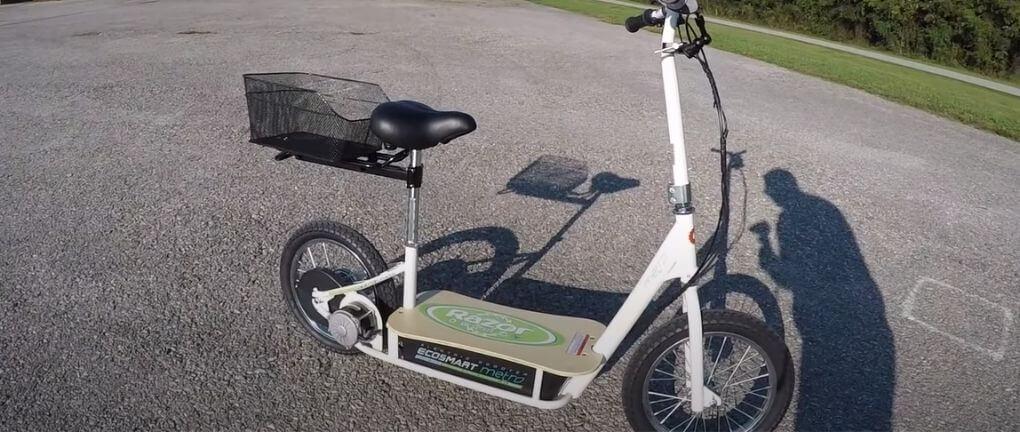 Razor Ecosmart seated scooter