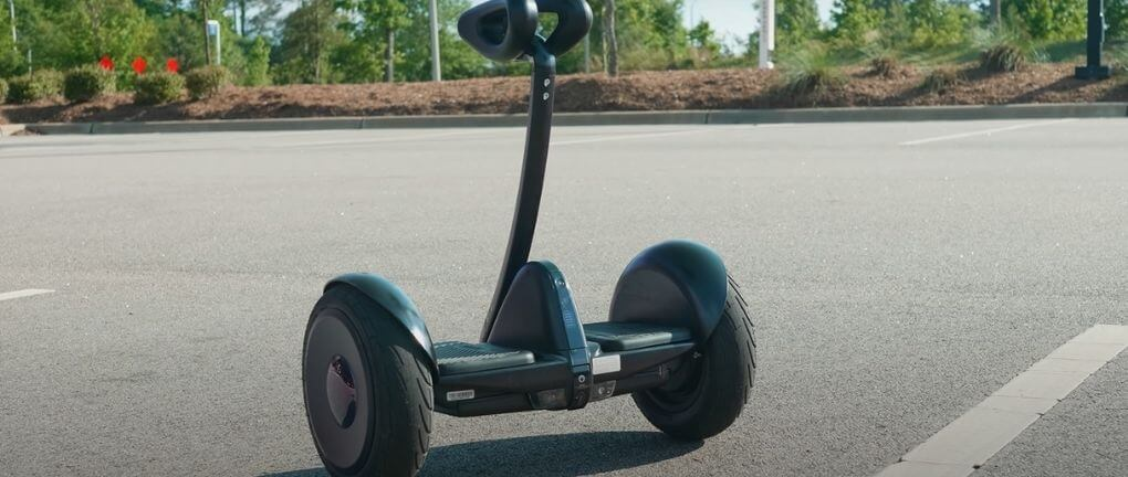 Segway Ninebot S Hoverboard with handle