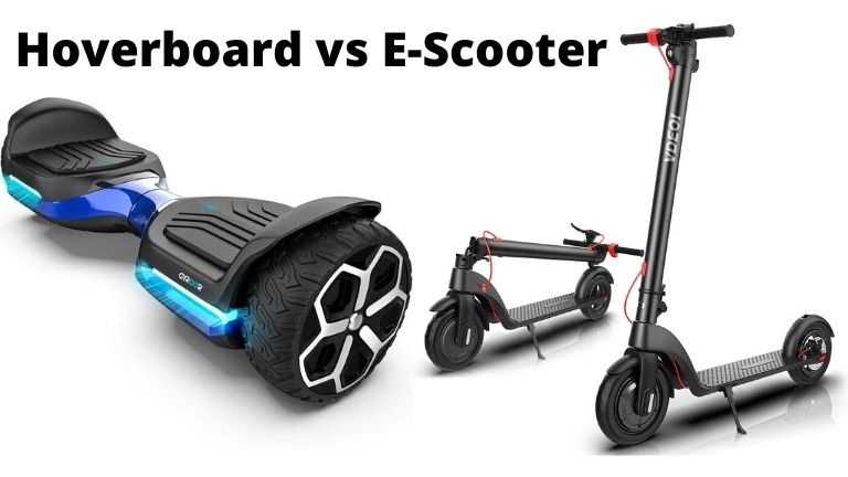 Hoverboard or electric scooter